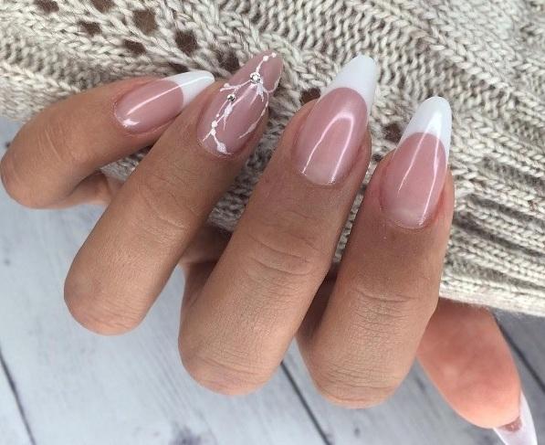 Наращивание ногтей тонких