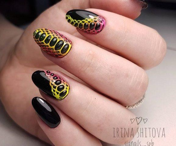 Дизайн ногтей гелем. Виды гелей