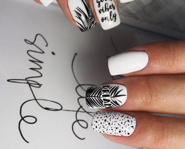 Стемпинг на ногтях