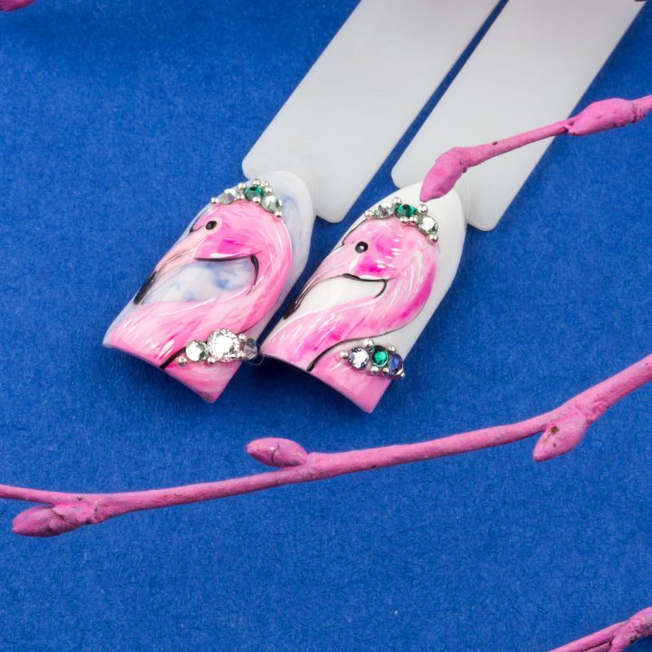 Мастер-класс Фламинго