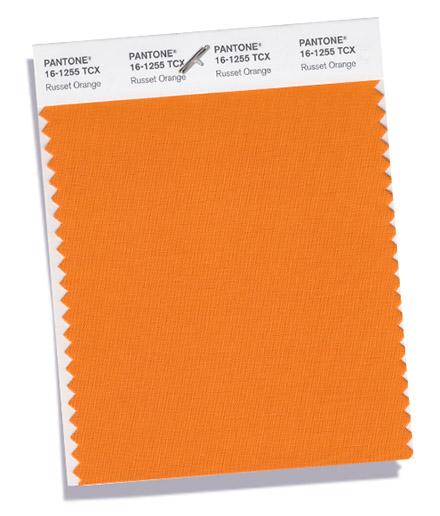 Pantone Russet Orange