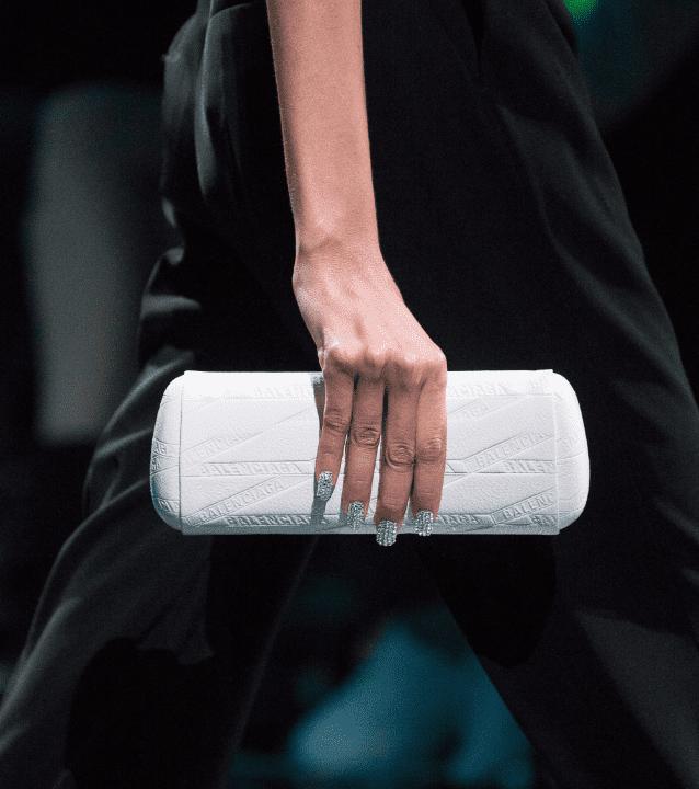imkosmetik news неделя моды balenciaga маникюр