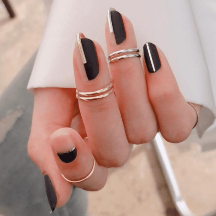 imkosmetik news геометрия дизайн ногтей