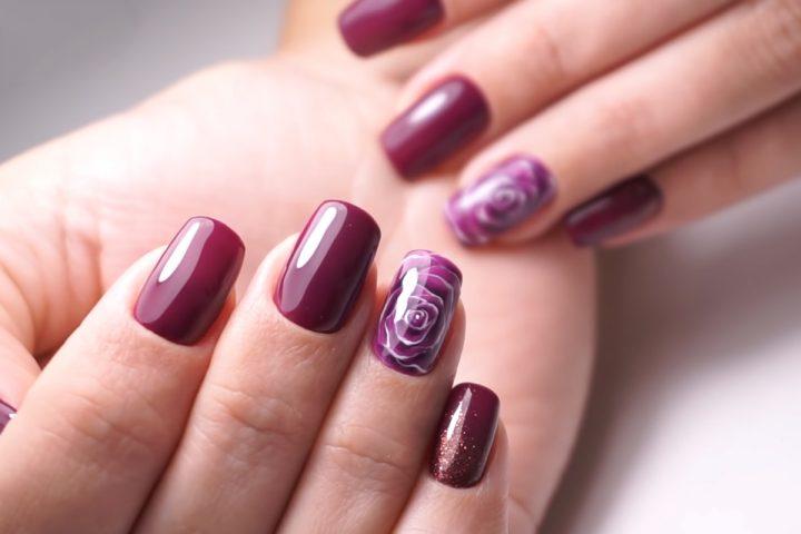 Осенний дизайн ногтей с коррекцией акригелем и идеальными бликами татьяна бугрий