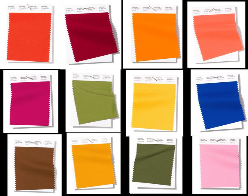 Модные цвета весна-лето 2019 Pantone