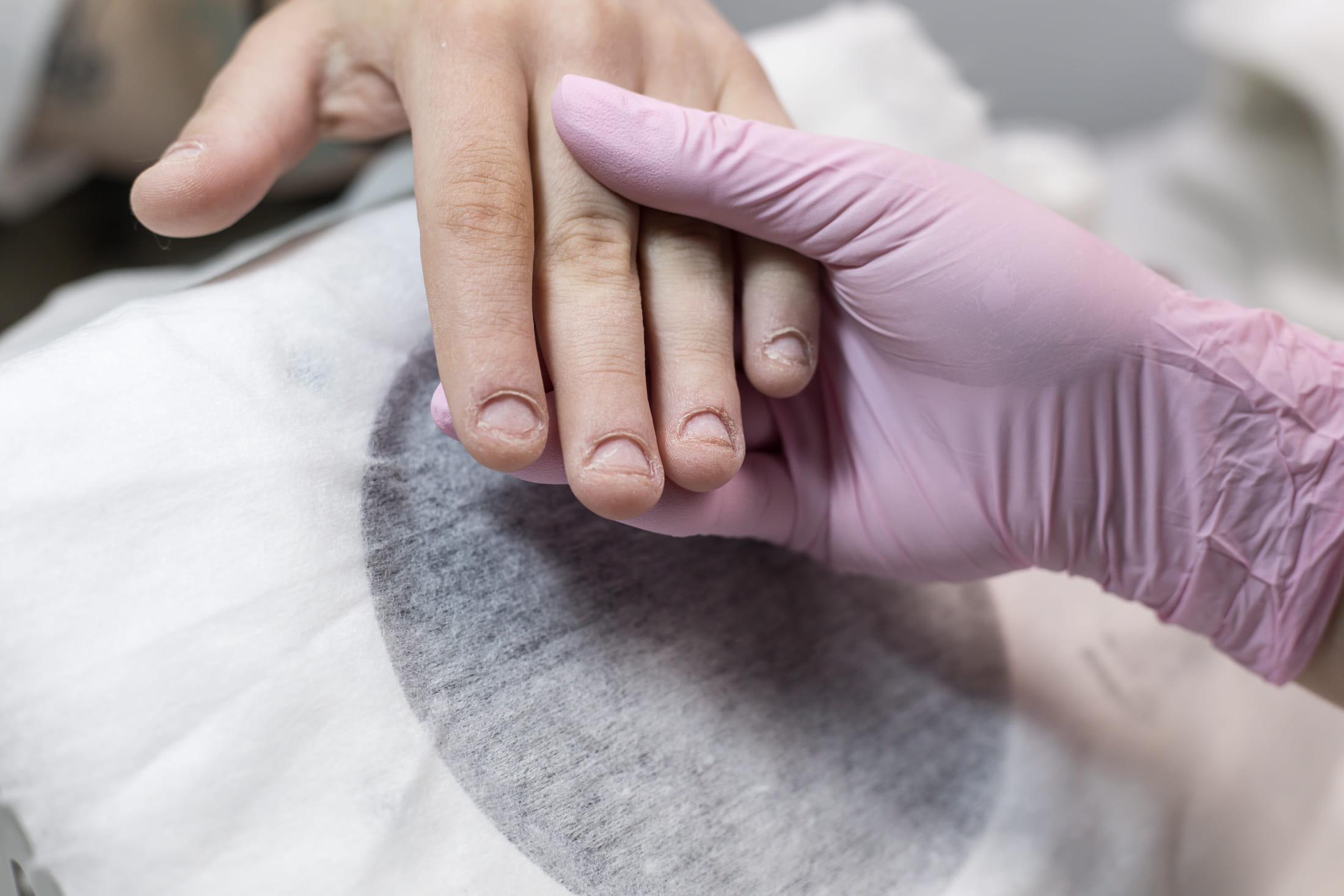 Мастер-класс: наращивание на сложных ногтях