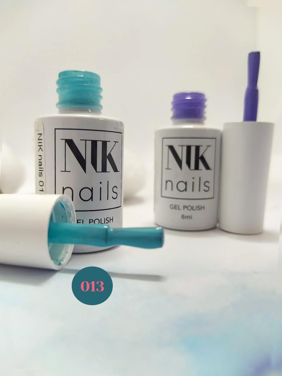 Обзор гель-лаков Nik nails