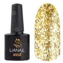 Lianail, Гель-лак WISH - Gold shine WSSO-002 (10 мл.)