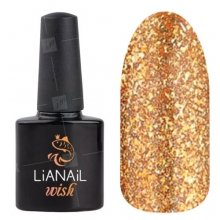 Lianail, Гель-лак WISH - Bronze shine WSSO-004 (10 мл.)