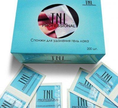 TNL, Салфетки для снятия гель-лака (200шт/уп.)Сопутствующие материалы<br>Салфетки пропитанные жидкостью для снятия гель-лака упаковка 200шт.<br>