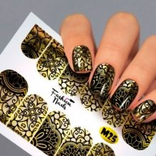 Fashion Nails, Слайдер дизайн - Metallic 25