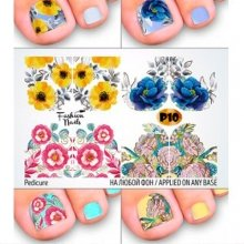 Fashion Nails, Слайдер дизайн - Pedicure 10