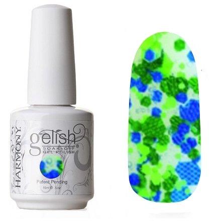 01860 Candy Shop Harmony GelishHarmony Gelish<br>Сине-зеленое конфеттиКоллекция Trends<br>