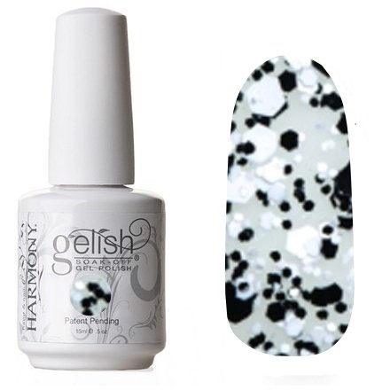 01862 A Pinch Of Pepper Harmony GelishHarmony Gelish<br>Черный конфеттиКоллекция Trends<br>