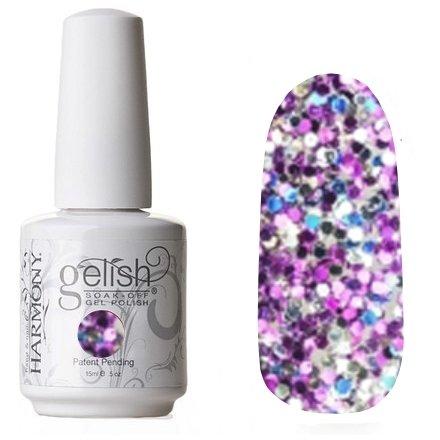 01864 Sweet 16 Harmony GelishHarmony Gelish<br>Мерцающее фиолетовое конфеттиКоллекция Trends<br>