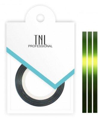 TNL, Нить на клеевой основе (зеленая)Самоклеющаяся лента для дизайна ногтей<br>Декоративная лента на клейкой основе позволяет легко и быстро создать оригинальный дизайн ногтей.<br>