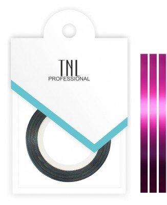 TNL, Нить на клеевой основе (малиновая)Самоклеющаяся лента для дизайна ногтей<br>Декоративная лента на клейкой основе позволяет легко и быстро создать оригинальный дизайн ногтей.<br>