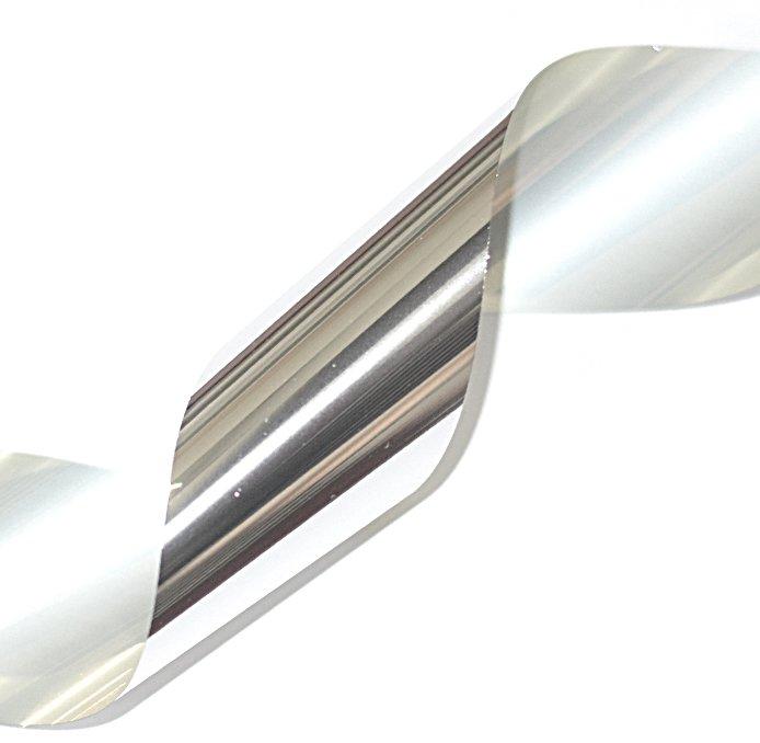InGarden Nail Systems, Фольга для литья, цвет «серебро» 02 (80см./3см.)Фольга отрывная<br><br>