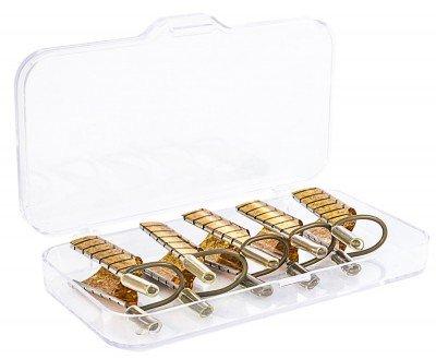 TNL, Формы многоразовые 5шт. в уп. (золото)Типсы, формы, палитры<br>Многоразовые формы<br>