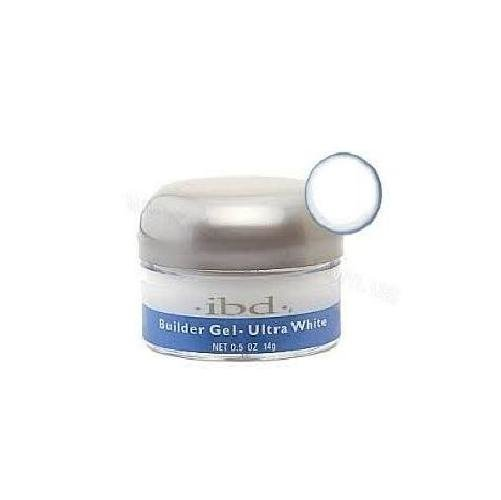 IBD UV Builder Gel Ultra White (14г)Гели для наращивания IBD<br>Ультра белый конструирующий гель (14г)<br>