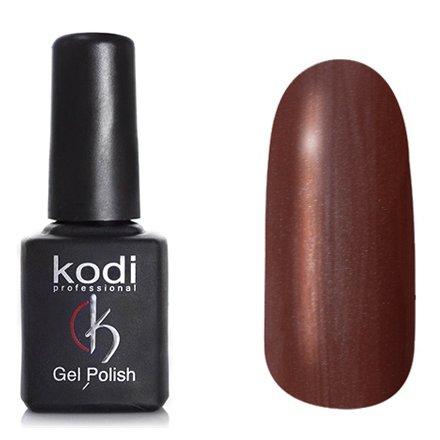 Kodi, Гель-лак Кошачий глаз № 712 (8ml)Kodi Professional <br>Магнитный гель-лак коричневый с розовымперламутровый и золотистым шиммером, плотный, 8мл.<br>