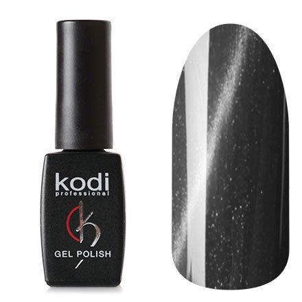 Kodi, Гель-лак Кошачий глаз № 718 (8ml)Kodi Professional <br>Магнитный гель-лакцвета мокрого асфальта, перламутровый, плотный, 8мл.<br>