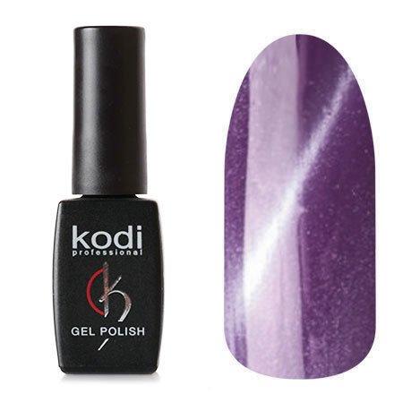 Kodi, Гель-лак Кошачий глаз № 719 (8ml)Kodi Professional <br>Магнитный гель-лак баклажановый, перламутровый, плотный, 8мл.<br>