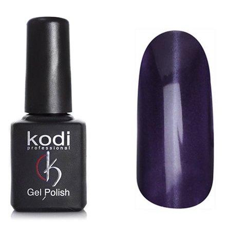Kodi, Гель-лак Кошачий глаз № 741 (8ml)Kodi Professional <br>Магнитный гель-лак фиолетовый, перламутровый с еле заметным разноцветым шиммером, плотный, 8мл.<br>
