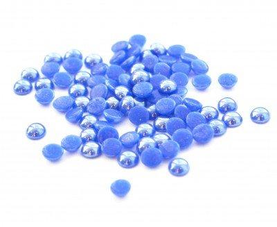 TNL, Стразы Жемчуг - синий перламутровый №4.0Стразы<br>Стразы Жемчуг 50 шт. синие перламутровые №4.0<br>