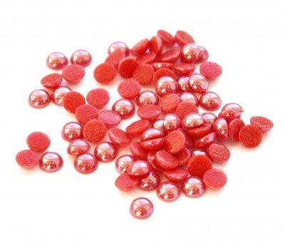 CrystalLized, Стразы Жемчуг - красный перламутровый SS 4.0 (1440 шт)Стразы<br>Стразы Жемчуг 1440 шт. красные перламутровые SS 4.0<br>