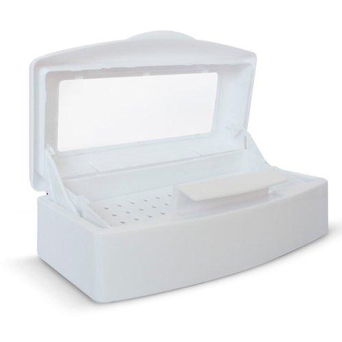 TNL, Бокс для дезинфекции маникюрного инструмента (пластиковый)Оборудование <br>Пластиковый бокс предназначен для дезинфекции маникюрного и педикюрного инструмента.<br>