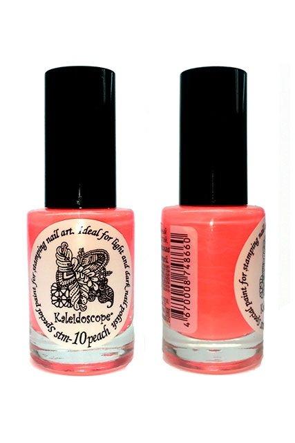 El Corazon, Краска для стемпинга - stm-10 Peach (персик)Лаки для стемпинга El Corazon<br>Высокопигментированный лак-краска для стемпинга.<br>