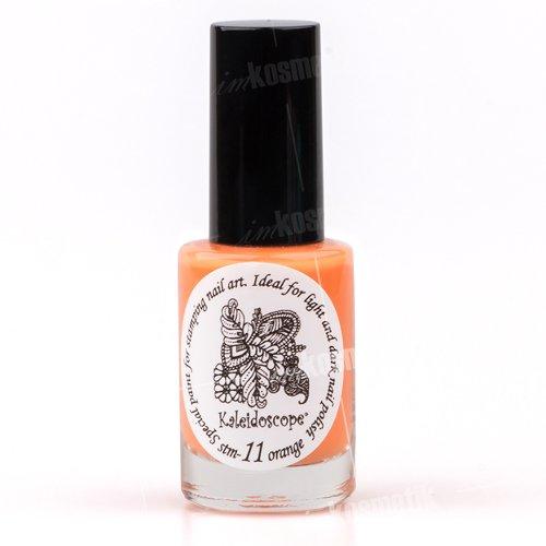 El Corazon, Краска для стемпинга - stm-11 Orange (оранжевый)Лаки для стемпинга El Corazon<br>Высокопигментированный лак-краска для стемпинга.<br>