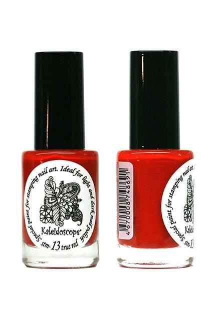 El Corazon, Краска для стемпинга - stm-13 True red (красный)Лаки для стемпинга El Corazon<br>Высокопигментированный лак-краска для стемпинга.<br>