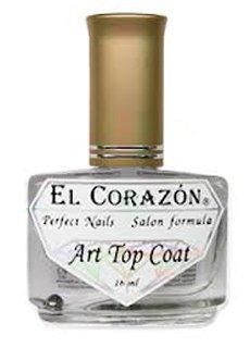El Corazon Art Top Coat, Holography Spark № 421h/24Лечебные топы El Corazon<br>Верхнее покрытие-закрепитель с акрилом прозрачное, с мелкими блестками. Объем 16 ml.<br>