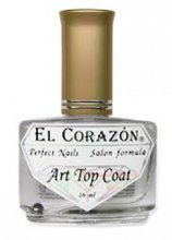 "El Corazon Art Top Coat, ""Large hologram "" № 421h/25"