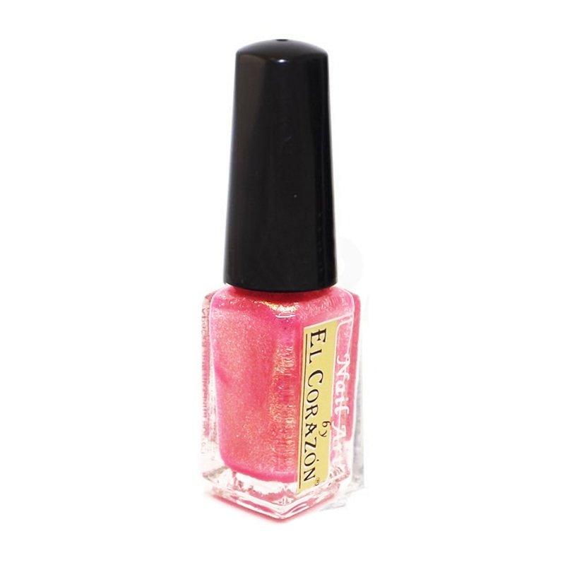 El Corazon Shaine Nail Art 563Лаки для дизайна с тонкой кистью El Corazon<br>Лак для дизайна ногтей сверкающий розовый, с блестками, плотный. 5 ml.<br>
