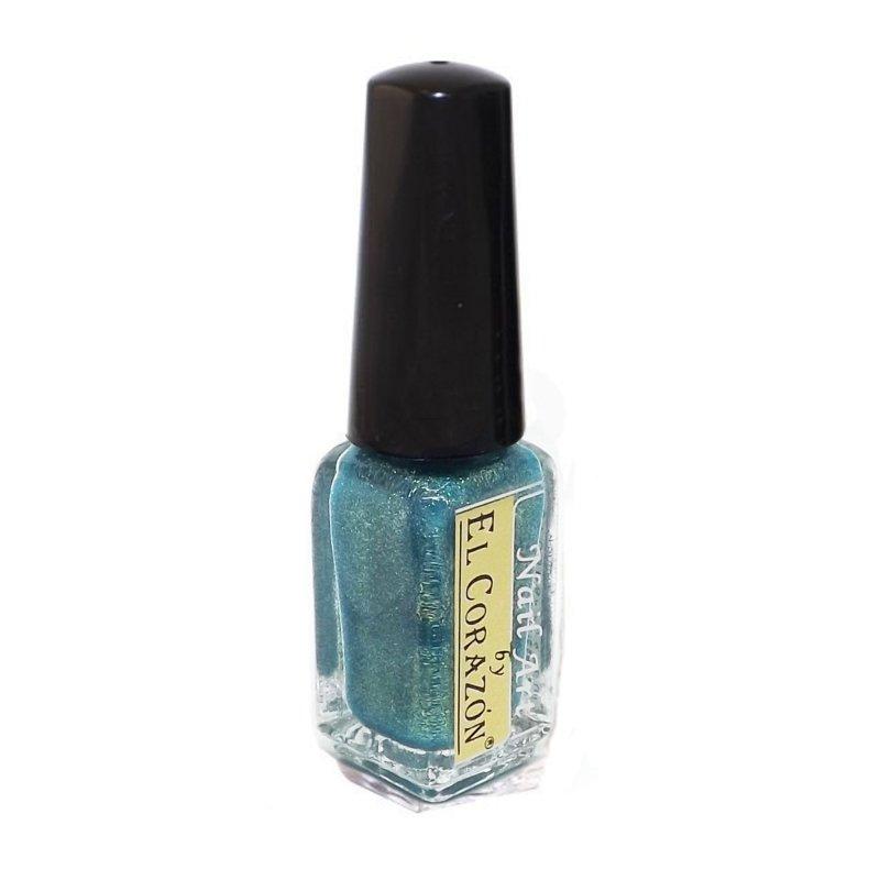 El Corazon Shaine Nail Art 573Лаки для дизайна с тонкой кистью El Corazon<br>Лак для дизайна ногтей сверкающий нежно голубого цвета с мельчайшим золотистым шиммером, плотный. 5 ml.<br>
