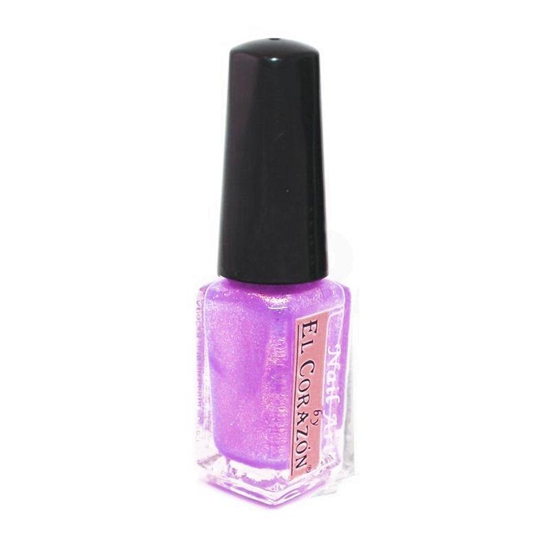 El Corazon Shaine Nail Art 557Лаки для дизайна с тонкой кистью El Corazon<br>Лак для дизайна ногтей сверкающийнежно сиреневого цвета с мельчайшим фиолетовым шиммером, плотный. 5 ml.<br>
