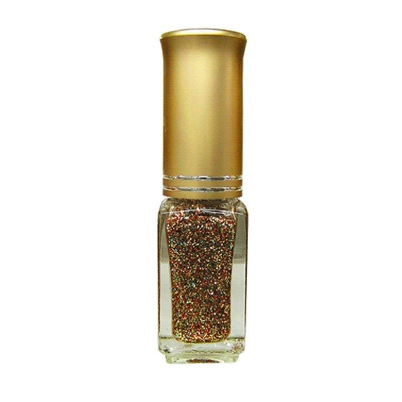 El Corazon Shaine Nail Art 17Лаки для дизайна с тонкой кистью El Corazon<br>Лак для дизайна ногтей прозрачный, с красными, золотыми и голубыми блестками. 5 ml.<br>