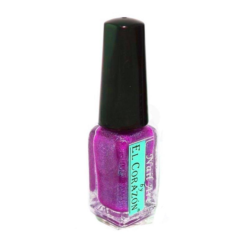 El Corazon Shaine Nail Art 570Лаки для дизайна с тонкой кистью El Corazon<br>Лак для дизайна ногтей сверкающий малиновый, с розовыми блестками, плотный. 5 ml.<br>