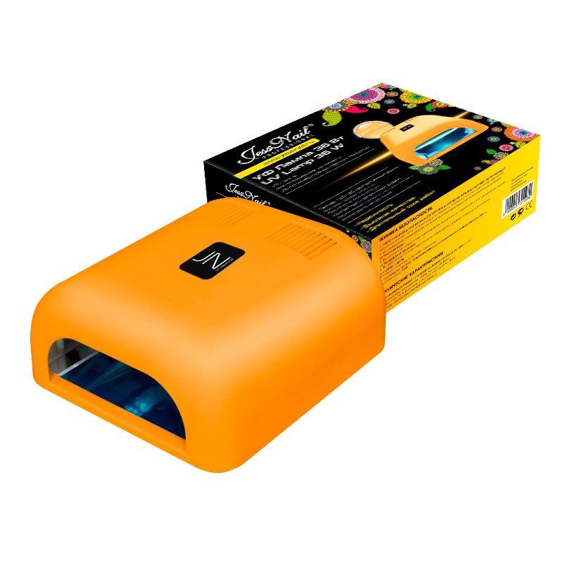 Jessnail, УФ лампа 36 Вт (оранжевая, матовая)УФ-Лампы<br>Профессиональная ультрафиолетовая лампа мощностью 36 Ватт.<br>