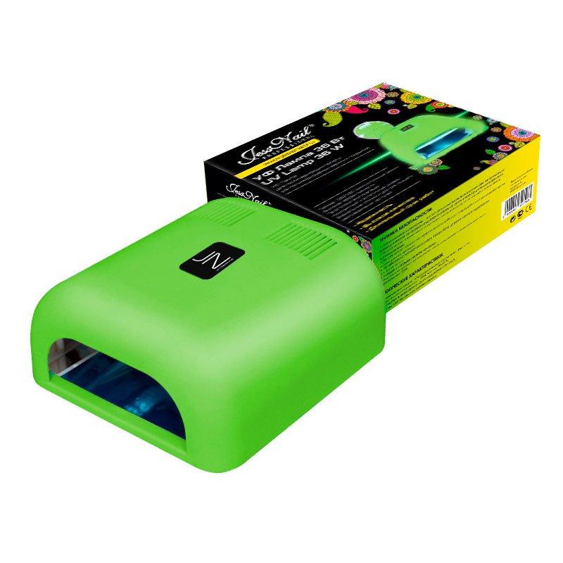 Jessnail, УФ лампа 36 Вт (светло-зеленая, матовая)УФ-Лампы<br>Профессиональная ультрафиолетовая лампа мощностью 36 Ватт.<br>