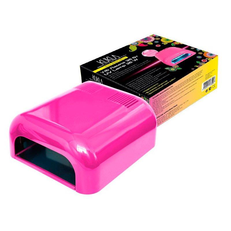 JessNail KUKLA, УФ лампа 36 Вт (розовая, глянцевая)