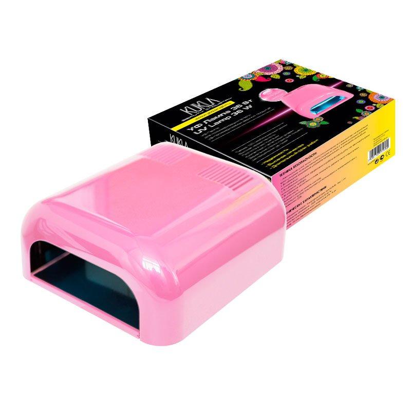 JessNail, KUKLA УФ лампа 36 Вт (светло-розовая, глянцевая)УФ-Лампы<br>Профессиональная ультрафиолетовая лампа мощностью 36 Ватт.<br>