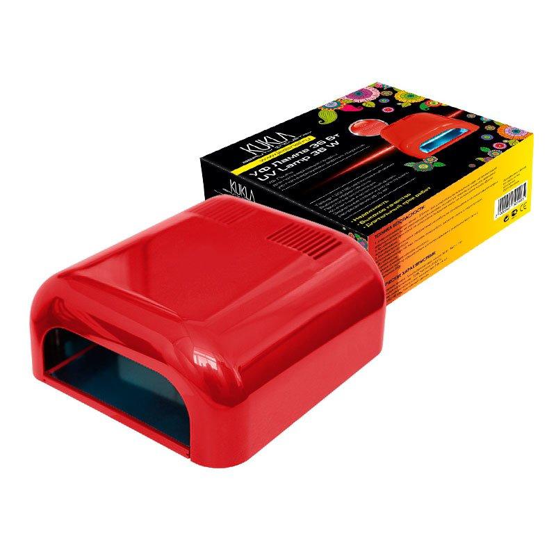 JessNail KUKLA, УФ лампа 36 Вт (темно-красная, глянцевая)УФ-Лампы<br>Профессиональная ультрафиолетовая лампа мощностью 36 Ватт.<br>