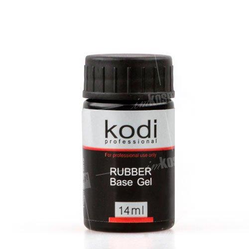 Kodi, Rubber Base (14ml)Kodi Professional <br>Каучуковая база для гель лака, без кисти, 14 мл.<br>