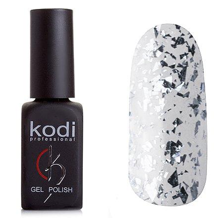 Kodi, Гель-лак № 501 (8ml)Kodi Professional <br>Гель-лак прозрачный, с серебряной слюдой, 8мл.<br>
