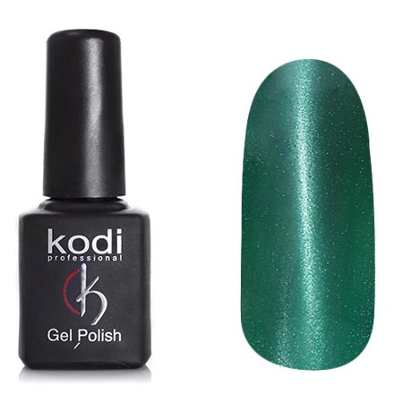 Kodi, Гель-лак Кошачий глаз № 716 (8ml)Kodi Professional <br>Магнитный гель-лакзеленый насыщенный, перламутровый, плотный, 8мл.<br>