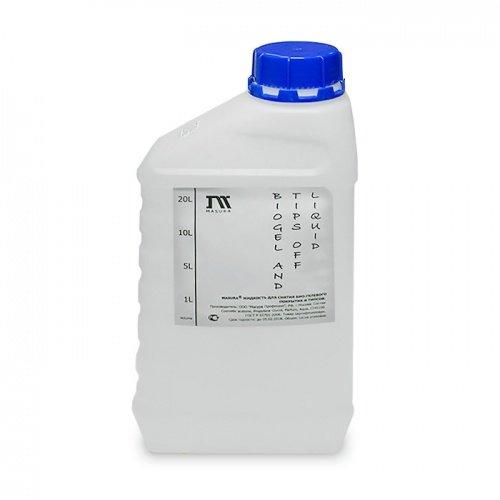 Masura, Жидкость для снятия гель-лака и био-геля (1000мл)Masura<br>Бережно снимает гель-лак, био-гель с натуральных ногтей. Оптимальное средство для легкого снятия типсов, акрила, шелка.<br>